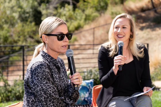 Cat Cora and Kate Scott Interview